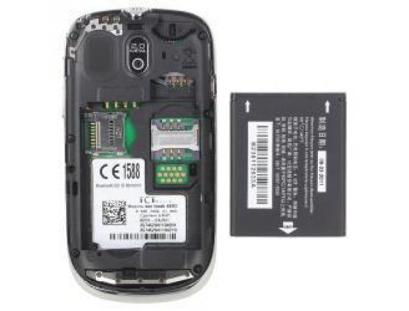 Телефон Alcatel OT602D Chrome White