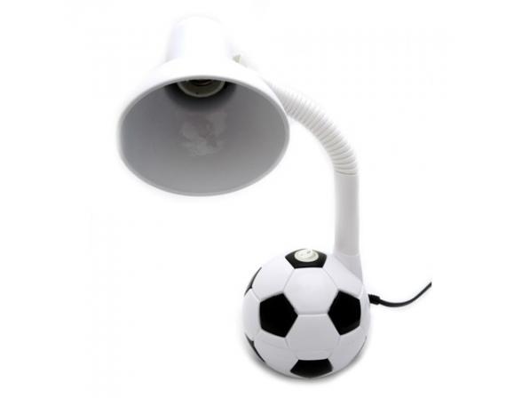 Лампа настольная Uniel TLI-216 White-Black. E27 40W Футбольный мяч