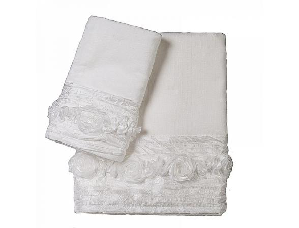 Полотенце для рук CROSCILL Posies/white*