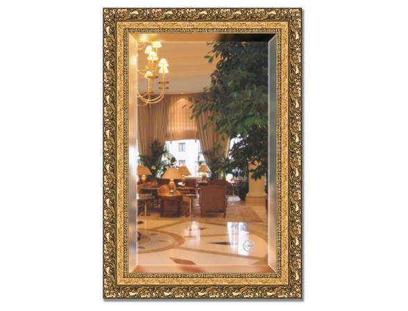 Зеркало в багетной раме EVOFORM виньетка бронзовая (65х95 см) BY 1280
