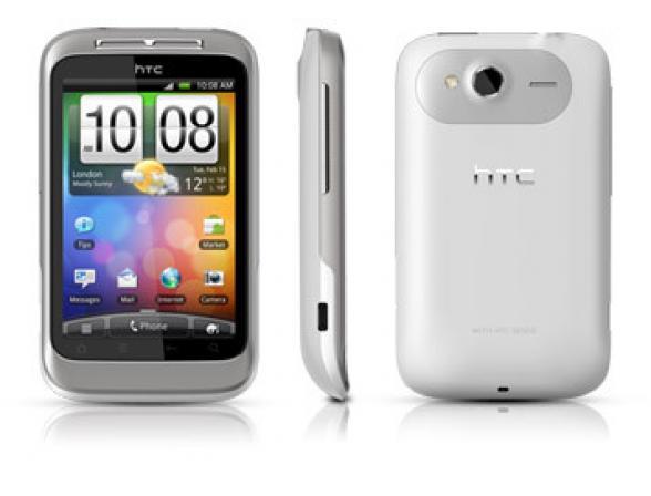 Коммуникатор HTC Wildfire S, White