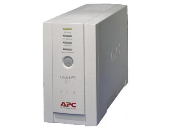 Источник бесперебойного питания APC Back-UPS CS 350 VA (BK350EI)