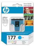 Картридж HP C8771HE Cyan Ink Cartridge №177