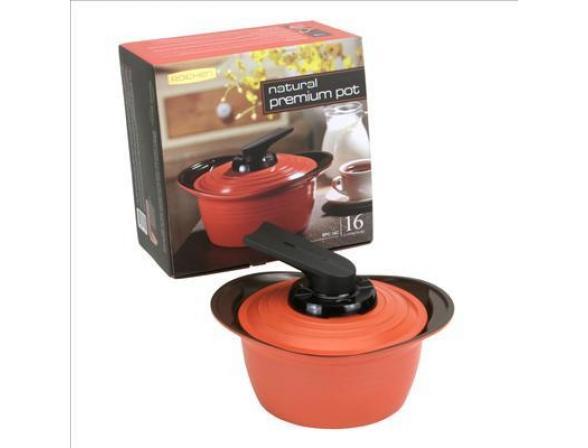 Кастрюля Roichen Natural Ceramic Premium 16 см RPC-16 C/OS