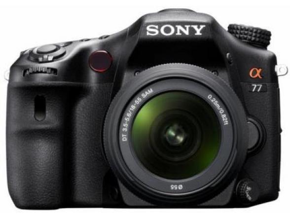 Зеркальный фотоаппарат Sony Alpha SLT-A77 Kit 18-55*