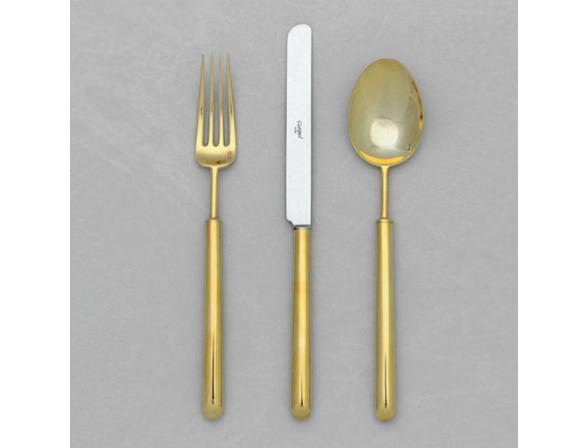 Набор столовых приборов CUTIPOL BALI GOLD 9312-72 мат. 72 пр.