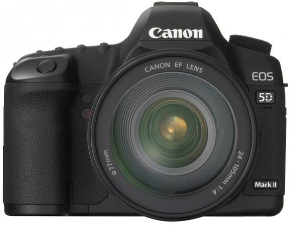 Зеркальный фотоаппарат Canon EOS 5D MARK II KIT* 24-105 IS USM