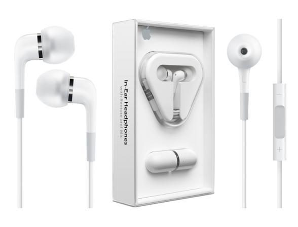 Гарнитура Apple In-Ear Headphones with Remote and Mic