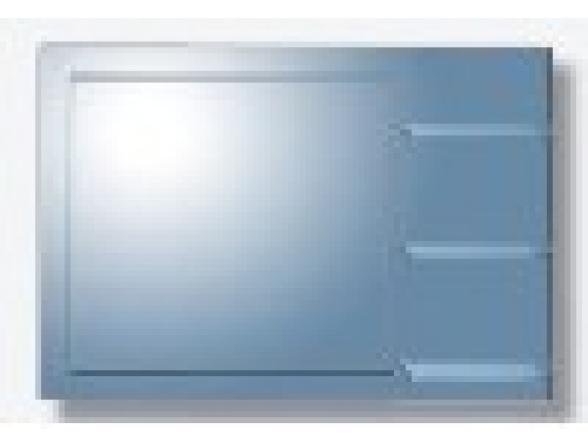 Зеркало с полочками Imagolux Мамма Миа, 80х60см, (723004)