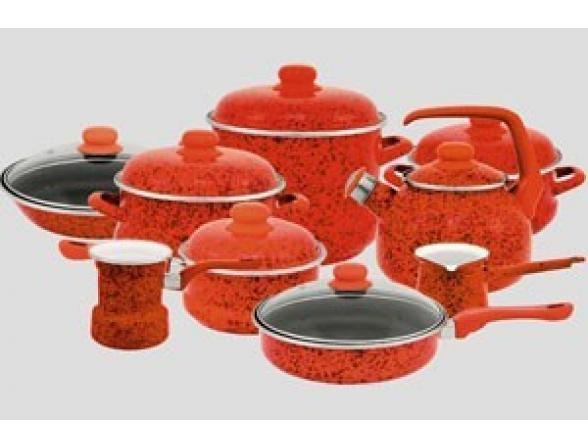 Набор посуды МЕТРОТ 6/1+ковш 16 см /083208/Эмина