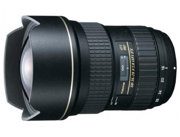 Объектив Tokina AT-X 16-28 F2.8 PRO FX Canon EF*
