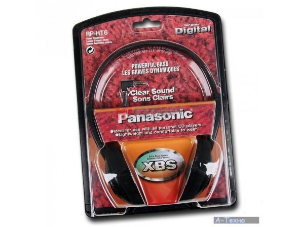 Наушники Panasonic RP-HT6 E-K