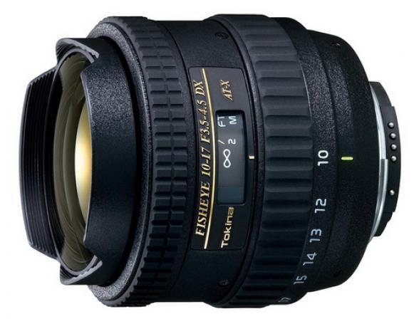 Объектив Tokina AT-X 107 AF DX Fish Eye Nikon F*