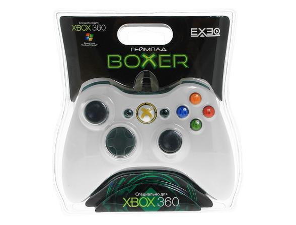 Геймпад EXEQ Boxer (Xbox360/PC) (eq-360-02120)