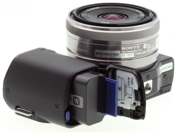 Цифровой фотоаппарат Sony Alpha NEX-5A Kit BLACK*
