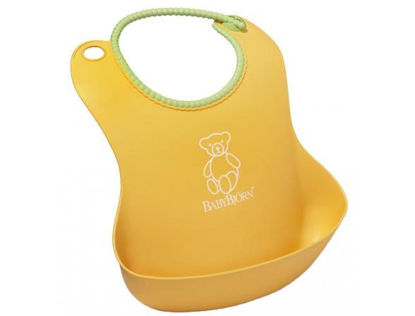 Мягкий нагрудник с карманом для крошек BabyBjorn Soft Bib 0462.60