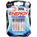 Батарейка ЭРА LR03-4BL (120/960/30720)