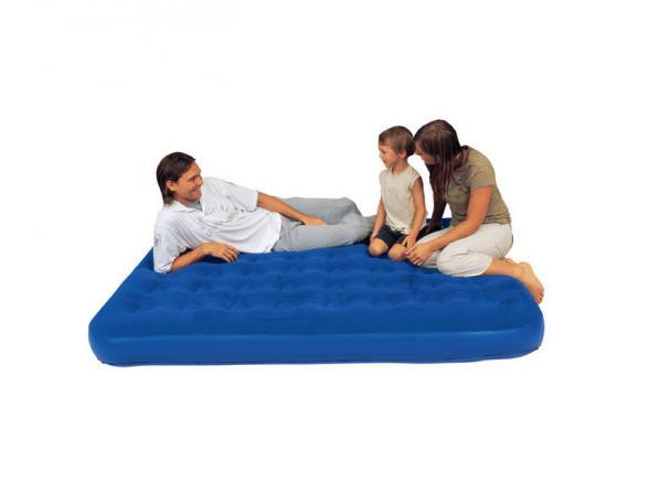 Кровать надувная Bestway Flocked Air Bed Twin Plus 67274
