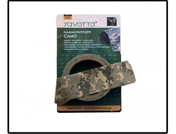 Камуфляжный скотч Savotta Camo Camouflage Tape 5см*10м, лесной КМФ