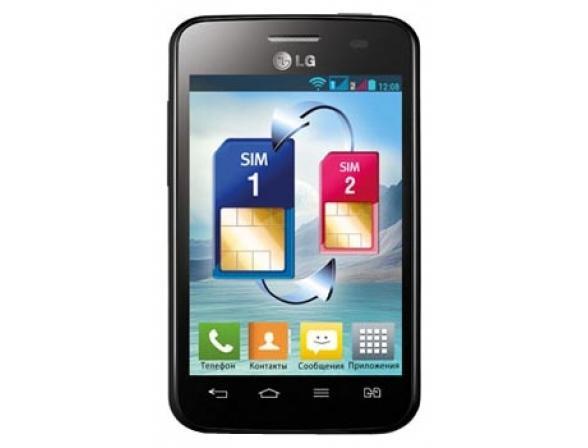 Смартфон LG Optimus L3 II Dual E435 Black