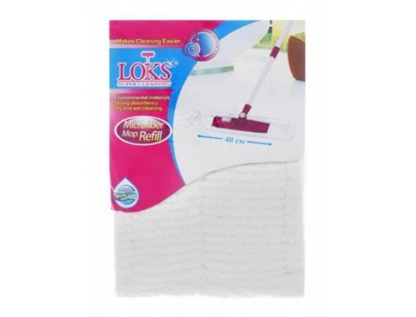 Сменная насадка микрофибра LOKS L15-4034-11