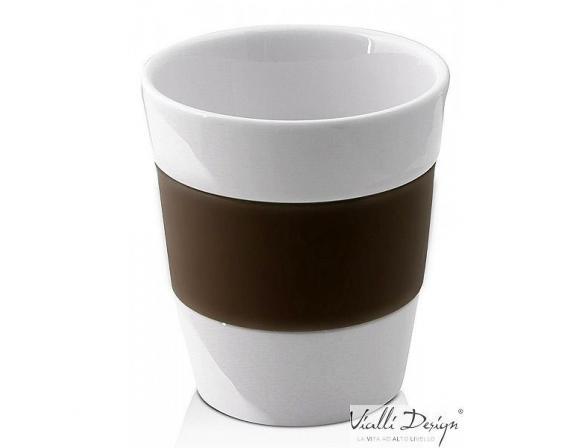 Набор стаканов Vialli Design LIVIO коричневый LIV-300BR