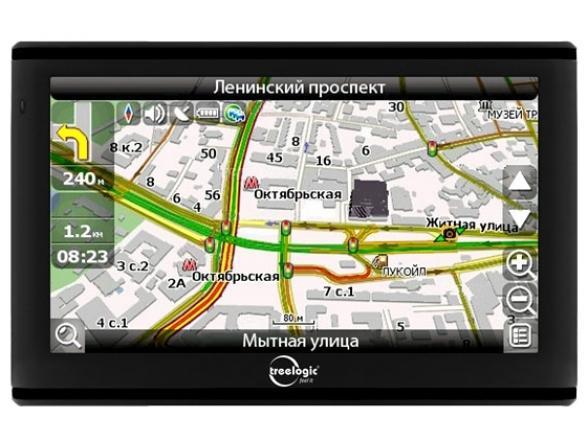 Навигатор Treelogic TL-5015GF AV HD