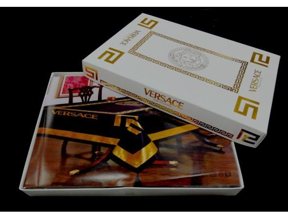 Скатерть ARYA водонепроницаемая Versace 160х220