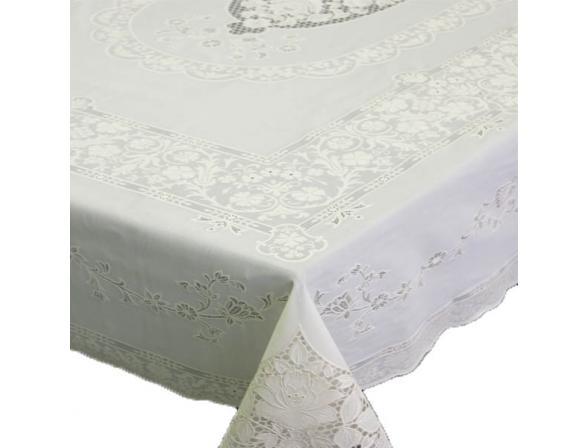 Скатерть ажурная Towa Mary Rose 132х177см