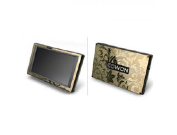 Стикер Cowon IAUDIO Q5 Metal Sticker (Gold Patern A)