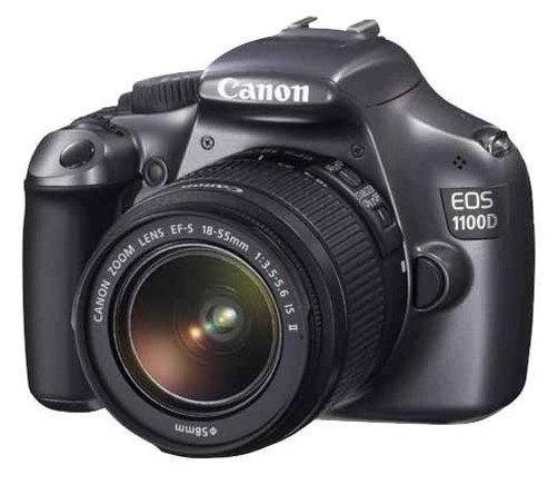 Зеркальный фотоаппарат Canon EOS 1100D Kit 18-55 IS II.