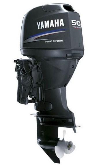 4-тактный подвесной лодочный мотор Yamaha F50FETL.  Минимум выбросов.
