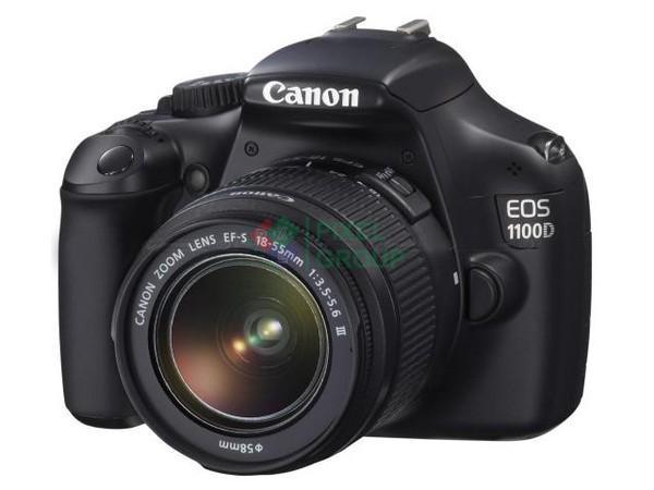 Фотоаппарат цифровой зеркальный Canon EOS1100D 18-55IS II Grey.