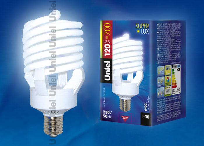 Лампа энергосберегающая Uniel ESL-S23-100/6400/E40.